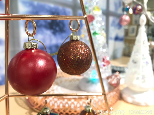 Xmas ball, your loving is Red or Gold?~オーナメントボール、赤と金色どっちが好きに入る?丸い地球サンタは貧しく純粋な笑顔の為Joy to the worldを願う