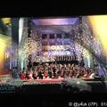"""Photos: 0:00Just End!テレ東ジルベスターコンサート~カウントダウン""""凱旋行進曲""""指揮が速すぎラスト伸ばしを15秒も引っ張り0:00完パーン!(管楽器隊は息がブオーーーずっと大変だったかと思われ…)"""