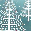 2018.12養命酒Xmas素敵表紙「しんと寒い冬も…からだもこころも温めて…」センスいいポストカードみたいクリスマス大好き!(撮って出し#iPhone7Plus)heartwarming green
