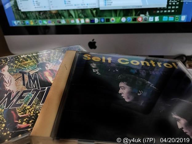 "TM NETWORK CD""GORILLA(1986)"",""Self Control(1987)""→(1ヶ月ぶり)Macインポート→AKハイレゾプレーヤーSD256GBへ!4.21TM35th祝で全国"