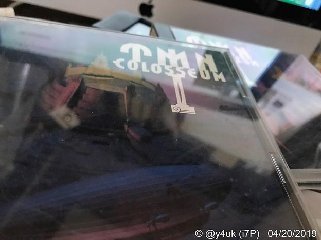 """Photos: TM NETWORK Live CD""""COLOSSEUM I"""",""""II""""(1992)初のライヴアルバム♪多会場の音源を合わせ架空のLiveCDになっている流石小室哲哉プロデュース力!この音のそこにいた"""