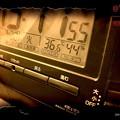 36.6℃44%きょうも猛暑の中、別の作業、汗だくで(~_~;)梅雨明け即つづく災害レベルの暑さ朝昼夜24h冷めない…今週はピーク。家も暑い、食も少ない栄養、夜も3時うるさく眠れない=熱中症体質になる