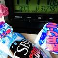 """37.2℃45%amから再び殺人猛暑(~_~;)遠い旅の巨大ディスカウント屋で調べここだけ入荷!やっと入手したクレイジークール2本も購入☆続くだろう残暑対策(クリエイティブモード""""POP"""":TZ85)"""