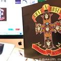 "Photos: 3.27_17:20""GUNS N' ROSES/Appetite For Destruction"" Great 1st Album! in Mac~田中瞳アナハワイで一瞬ガンズT着用&インスタも記念"
