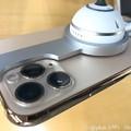 """9.20旅先その3.""""iPhone 11 Pro(Gold)""""発売日!レンズ出っ張り具合とレンズ周りの金属が傷つきやすい。これは発売日で綺麗ですが9.30旅先のは傷だらけ尖って出っ張ってるからキスした"""