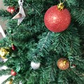 """Photos: 12.2旅先その4.着地""""XmasTree again, Red balls""""今冬もここのクリスマスツリーを見れた☆日が早すぎると思ったがいらして良かった☆些細で小さくても癒し笑顔元気自分らしさの源☆"""