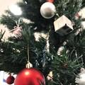 12.2旅先その5.毎年恒例13年の付き合いXmasTree~下のRed Ballから見上げるクリスマスツリーこのアングルははずめてだ!空へ天使の居るここからなら自分らしく飛んで行けそうでサンタは空を
