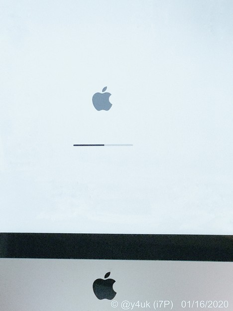 Photos: 1.16Power on Mac for the first time in six months! Apple Sturdy~なんと半年ぶり(夏以来)の起動!頑丈!音楽のためCD6枚&ハイレゾ5種♪