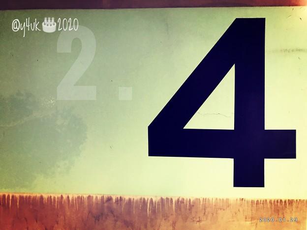 """Favorite 4 on the melting wall[1.29.2020]for 2.4 my Birthday~溶ける壁に""""4""""お誕生日の""""4""""1.29旅先その""""4""""ここもこの時まだ風邪の前"""
