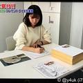 """Photos: 18:35_2.16モヤさまリアルタイム版:田中アナがモヤさま付き色紙に「世界に1つだけのイラスト プレゼントクイズを実施」""""生放送中に受付??""""50枚色々マーライオン書きまくった!世界に一つだけの花"""