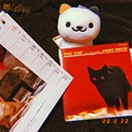 Photos: 2.22.2020#猫の日 記念写真☆The Cat/Jimmy Smith(Jazz,黒猫)☆ねこあつめ(三毛猫)☆岩合光昭にゃんこカレンダー(茶トラ)☆癒し(フィルム風:ShotoniPhone)