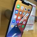 """17:52_11.13発売日旅8""""iPhone12ProMaxパシフィックブルー 表面""""AppleSIMフリー予約開始日6日予約済み!愛用7Plusと同等サイズ「驚きの特別なカメラ性能シリーズ最高峰」"""