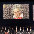 "Photos: 12.19TBS""1万人の第九#大阪城ホール#佐渡裕""毎年恒例年末の歓喜しかしコロナ禍…リモートで1万人その集まりでベートーベン現れたラストに鳥肌!来年は1万人の生を再び祈るベートーベン生誕250周年"