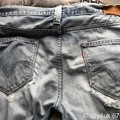 """""""Levi's 504"""" ended jeans. I was used habitually for 15 years. Long together Thank you.2020歴史的チェンジその3"""