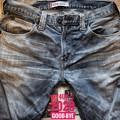 """2020歴史的3さよなら""""Levi's 504"""" ended jeans. I was used habitually for 15 years. Long together Thank you.新年"""