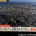 "Photos: 12.31.2020_19:29紅白直前NHKニュース""大晦日に過去最多東京1,337人全国4,515人""#新型コロナウイルス#感染爆発「首都圏ステージ4最悪!#緊急事態宣言は前回同等効果が必要シミュ"
