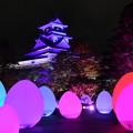 高知城光の祭り
