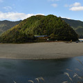 Photos: 岩間沈下橋と洲