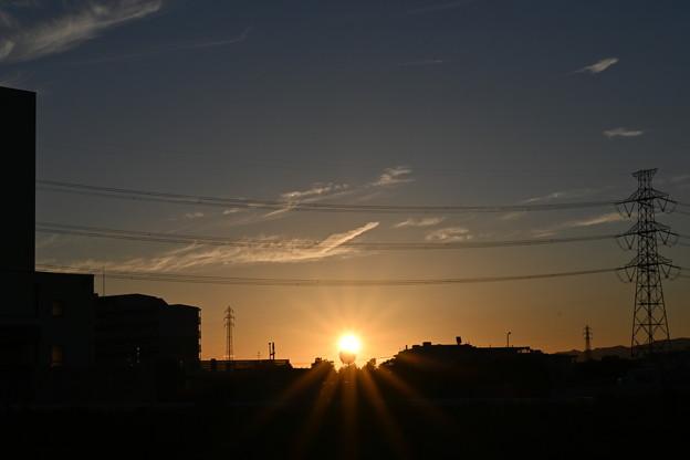 Photos: 夏の終わりの落日