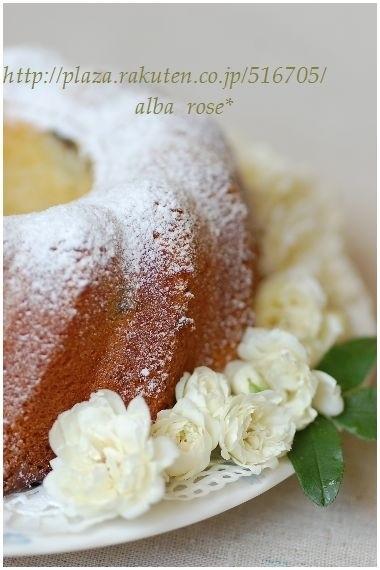 クグロフ型のバターケーキ