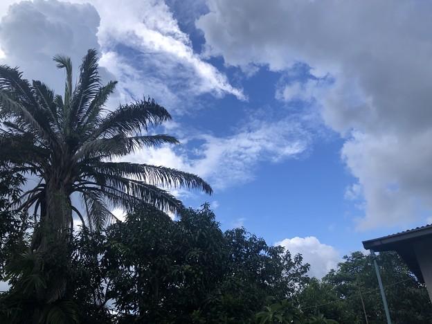 10月のヤンゴンの空 (2)