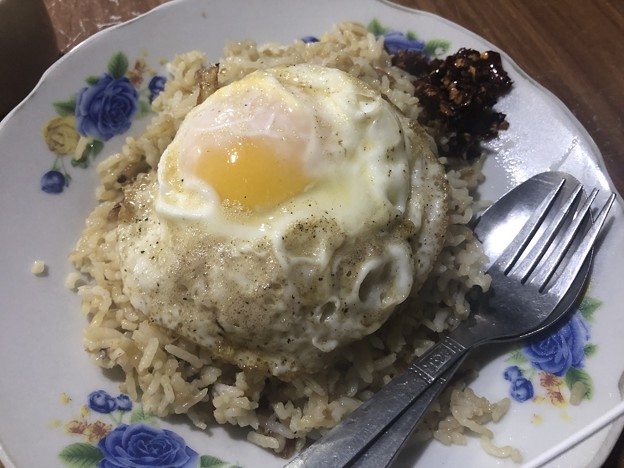 12月21日のヤンゴンでの朝ごはん (2)