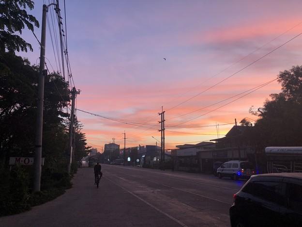 12月30日の早朝のヤンゴン (2)