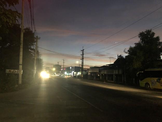 12月30日の早朝のヤンゴン (1)