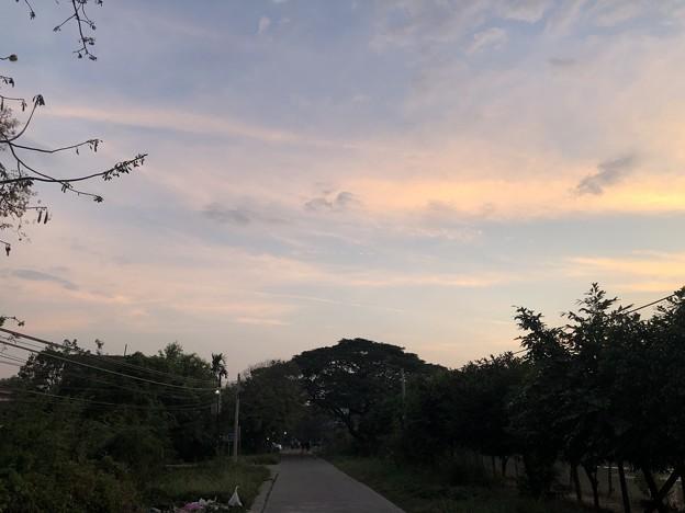 2020大晦日のヤンゴンの早朝 (10)