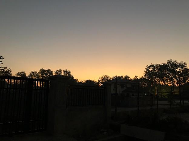 1月5日のヤンゴンの朝 (2)