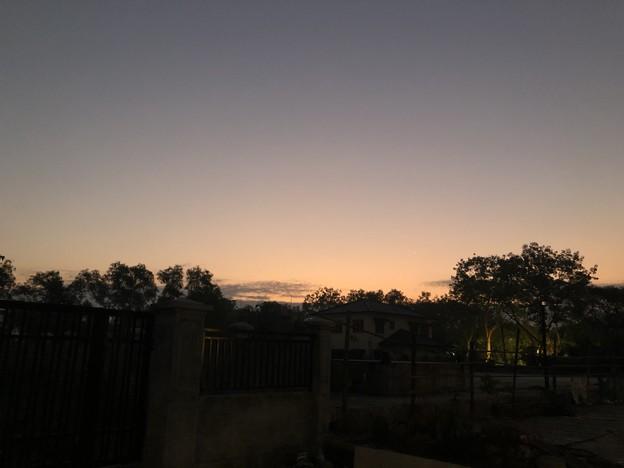 1月7日のヤンゴンの朝 (1)