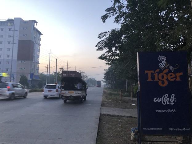 1月15日のヤンゴンの朝 (8)