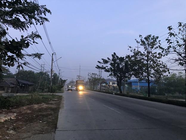 1月15日のヤンゴンの朝 (7)