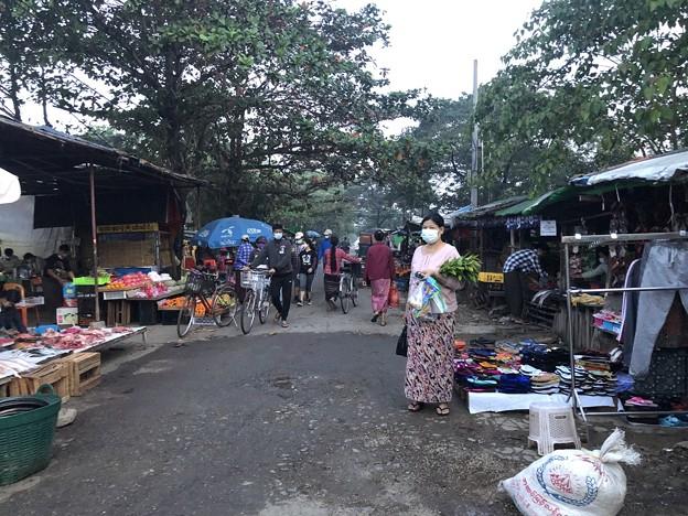 Photos: 1月15日のヤンゴンの朝 (12)