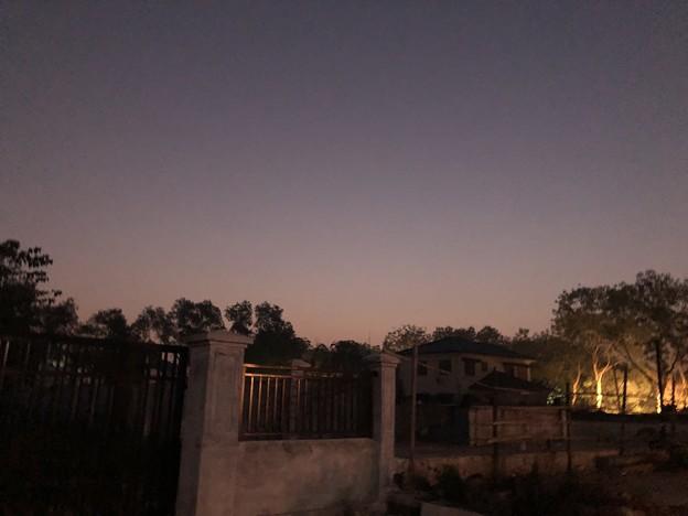 1月19日のヤンゴンの朝 (2)