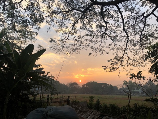 1月20日のヤンゴンの朝 (9)