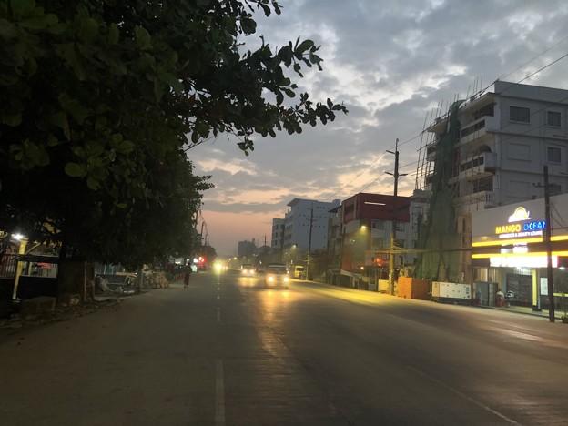 1月20日のヤンゴンの朝 (5)