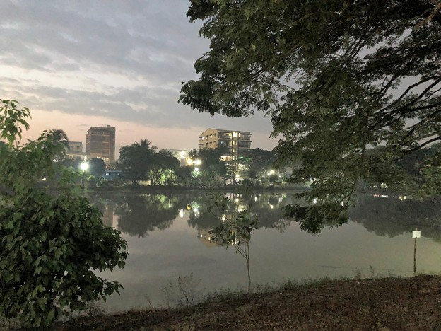 Photos: 1月20日のヤンゴンの朝 (3)