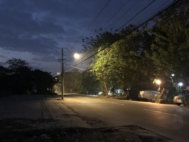 1月20日のヤンゴンの朝 (2)