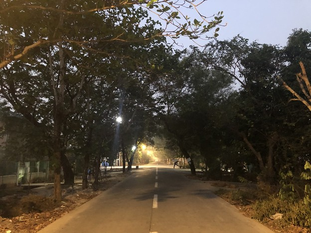 1月21日のヤンゴンの朝 (4)