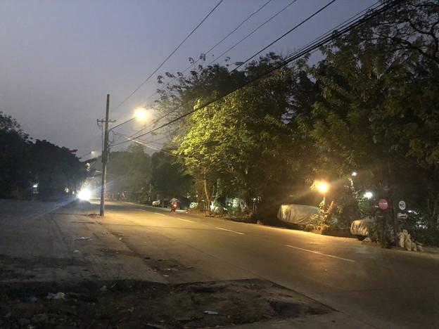 1月22日のヤンゴンの朝 (1)