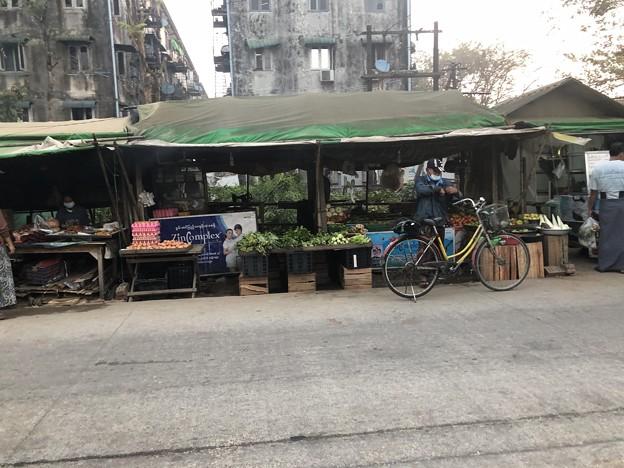 1月223日のヤンゴンの朝 (5)