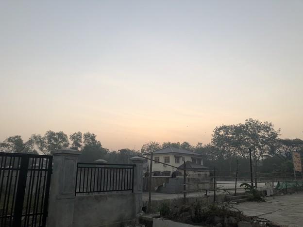 1月223日のヤンゴンの朝 (2)