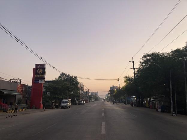 2月3日のヤンゴンの朝 (5)
