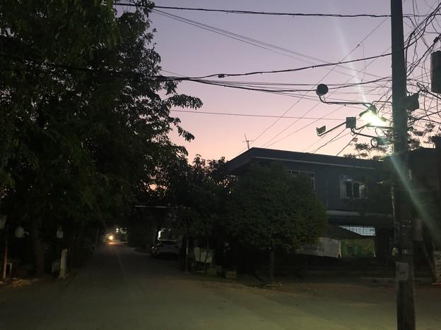 2月4日のヤンゴンの朝 (4)