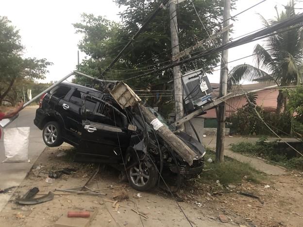 ヤンゴンで事故 (2)