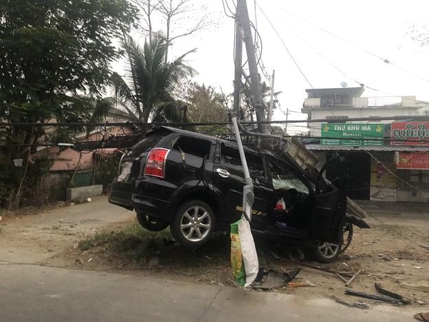 ヤンゴンで事故 (3)