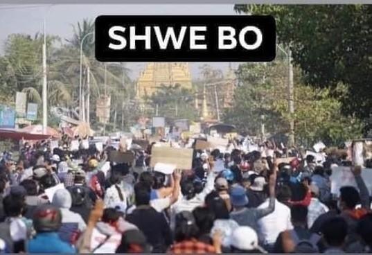ミャンマーのデモ (15)