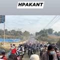 Photos: ミャンマーのデモ (24)