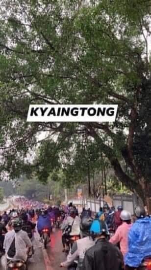 ミャンマーのデモ (35)